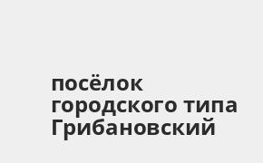 Справочная информация: Банкоматы Россельхозбанка в посёлке городского типа Грибановский — часы работы и адреса терминалов на карте