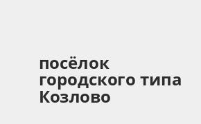 Справочная информация: Банкоматы Россельхозбанка в посёлке городского типа Козлово — часы работы и адреса терминалов на карте