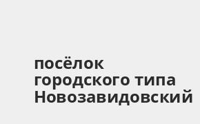 Справочная информация: Банкоматы Россельхозбанка в посёлке городского типа Новозавидовский — часы работы и адреса терминалов на карте