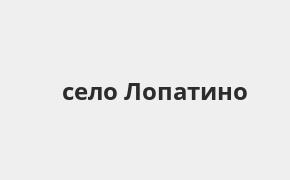 Справочная информация: Россельхозбанк в селе Лопатино — адреса отделений и банкоматов, телефоны и режим работы офисов