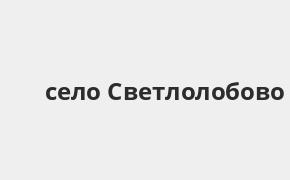 Справочная информация: Банкоматы Россельхозбанка в селе Светлолобово — часы работы и адреса терминалов на карте