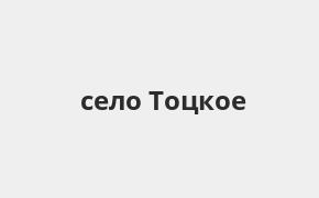 Справочная информация: Банкоматы Россельхозбанка в селе Тоцкое — часы работы и адреса терминалов на карте